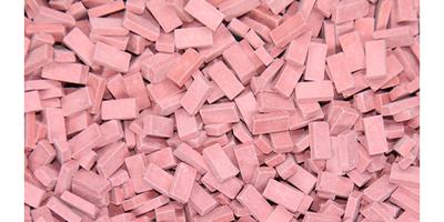 Juweela 1:48 Scale Light Red Bricks